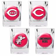 Cincinnati Reds Collector's Shot Glass Set