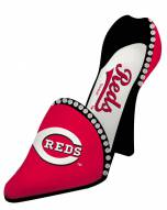Cincinnati Reds Decorative Shoe Wine Bottle Holder