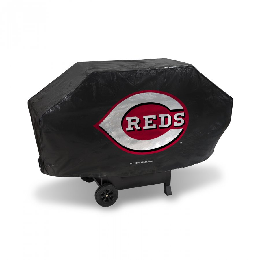 Cincinnati Reds Deluxe Padded Grill Cover