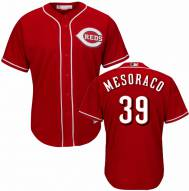Cincinnati Reds Devin Mesoraco Replica Scarlet Alternate Baseball Jersey