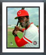 Cincinnati Reds George Foster Posed with Bat Framed Photo