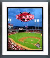 Cincinnati Reds Great American Ball Park 2015 All-Star Game Overlay Framed Photo
