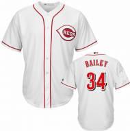 Cincinnati Reds Homer Bailey Replica Home Baseball Jersey