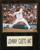 "Cincinnati Reds Johnny Cueto 12"" x 15"" Player Plaque"