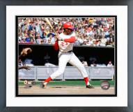 Cincinnati Reds Lee May 1970 World Series Action Framed Photo