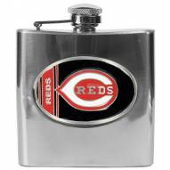 Cincinnati Reds MLB 6 Oz. Stainless Steel Hip Flask