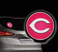 Cincinnati Reds Light Up Power Decal