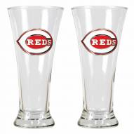 Cincinnati Reds Premiere Pilsner Glass Set