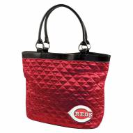 Cincinnati Reds Quilted Tote Bag