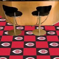 Cincinnati Reds Team Carpet Tiles
