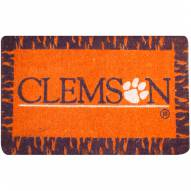 Clemson Tigers NCAA Welcome Mat