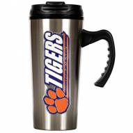 Clemson Tigers 16 oz. Stainless Steel Travel Mug