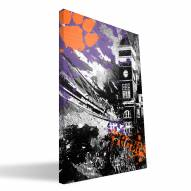 "Clemson Tigers 16"""" x 24"""" Spirit Canvas Print"
