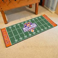 Clemson Tigers 2016/17 College Football National Champions Football Field Runner Rug