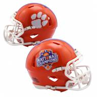 Clemson Tigers 2016/17 College Football National Champions Riddell Speed Mini Helmet