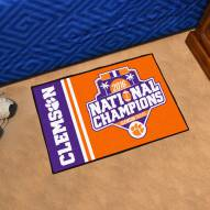 Clemson Tigers 2016/17 College Football National Champions Starter Rug