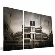 "Clemson Tigers 24"""" x 48"""" Stadium Canvas Print"