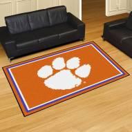 Clemson Tigers 5' x 8' Area Rug
