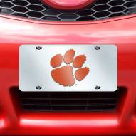 Clemson Tigers Acrylic License Plate