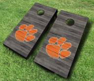 Clemson Tigers Cornhole Board Set