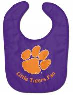 Clemson Tigers All Pro Little Fan Baby Bib