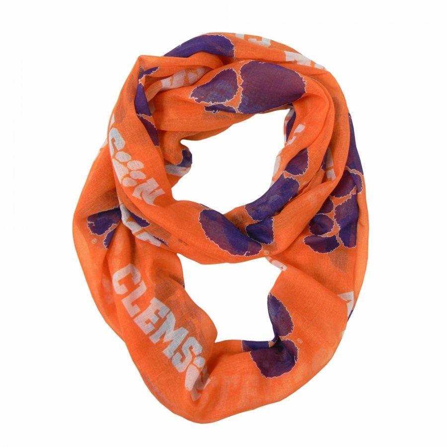 Clemson Tigers Alternate Sheer Infinity Scarf