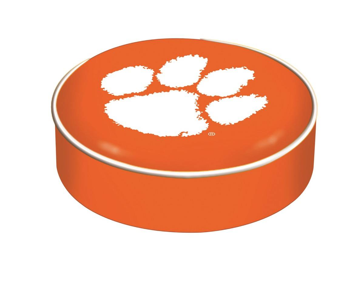 Clemson Tigers Bar Stool Seat Cover