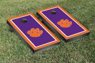 Clemson Tigers Border Cornhole Game Set
