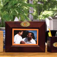Clemson Tigers Brown Landscape Picture Frame