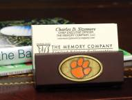Clemson Tigers Business Card Holder