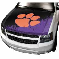Clemson Tigers Car Hood Cover