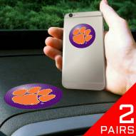 Clemson Tigers Cell Phone Grips - 2 Pack