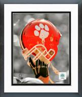 Clemson Tigers Clemson University Tigers Helmet Spotlight Framed Photo