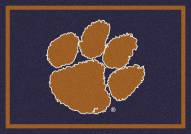 Clemson Tigers College Team Spirit Area Rug