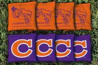 Clemson Tigers College Vault Cornhole Bag Set