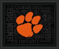 Clemson Tigers College Word Cloud