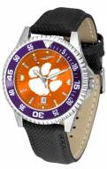 Clemson Tigers Competitor AnoChrome Men's Watch - Color Bezel