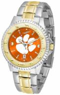 Clemson Tigers Competitor Two-Tone AnoChrome Men's Watch