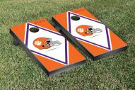 Clemson Tigers Diamond Cornhole Game Set