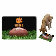 Clemson Tigers Dog Bowl Mat
