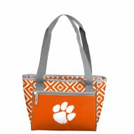 Clemson Tigers Double Diamond Cooler Tote