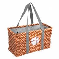 Clemson Tigers Double Diamond Picnic Caddy