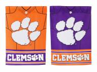 Clemson Tigers Double Sided Jersey Garden Flag