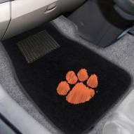 Clemson Tigers Embroidered Car Mats
