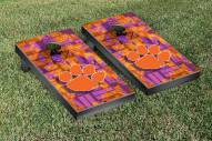 Clemson Tigers Fight Song Cornhole Game Set