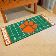 Clemson Tigers Football Field Runner Rug