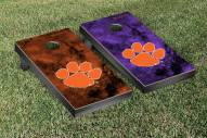 Clemson Tigers Galaxy Cornhole Game Set