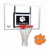 Clemson Tigers Goalsetter Junior Wall Mount Basketball Hoop