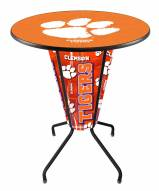 Clemson Tigers Indoor/Outdoor Lighted Pub Table