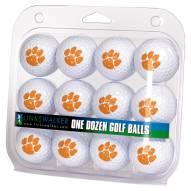 Clemson Tigers Dozen Golf Balls